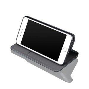 Bruin luxe afgewerkt iPhone X portemonnee hoesje