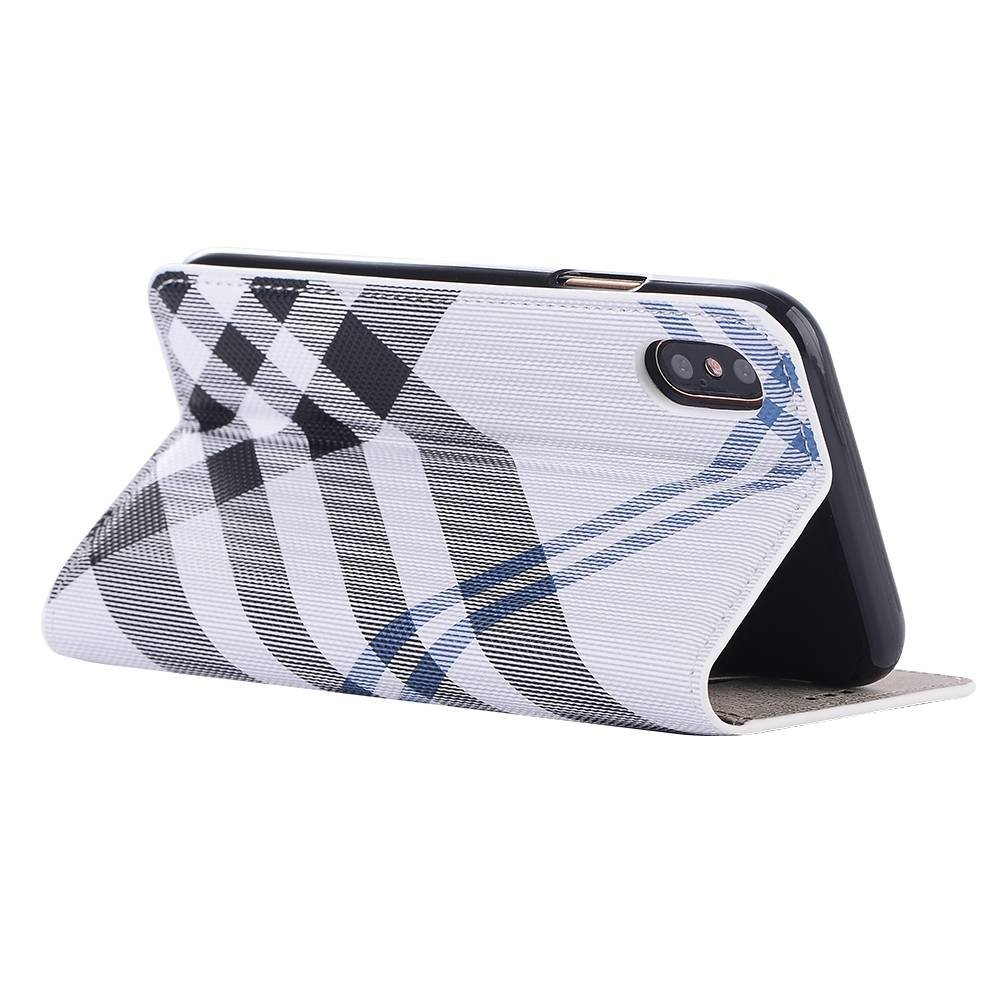 iPhone X geruit (burberry look)