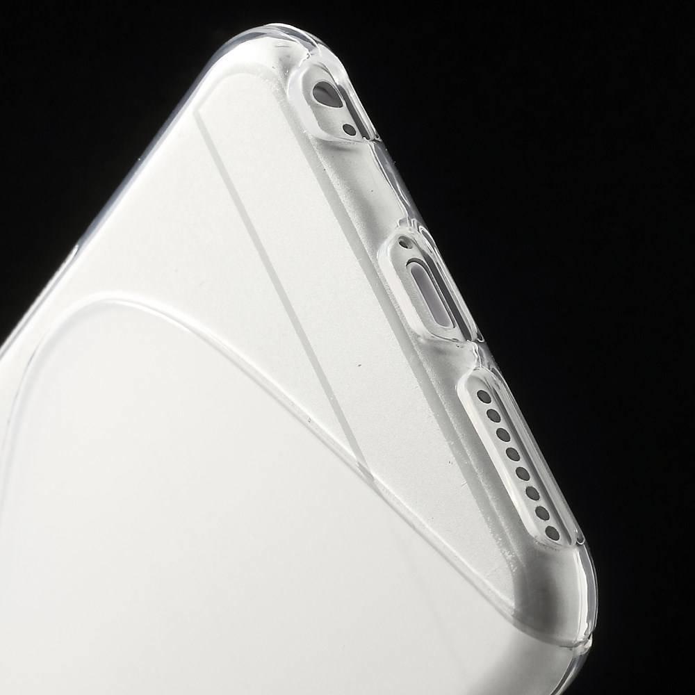 Transparant S-line iPhone 6 Plus TPU hoesje