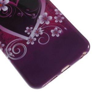 Groot hartje iPhone 6 plus TPU hoesje
