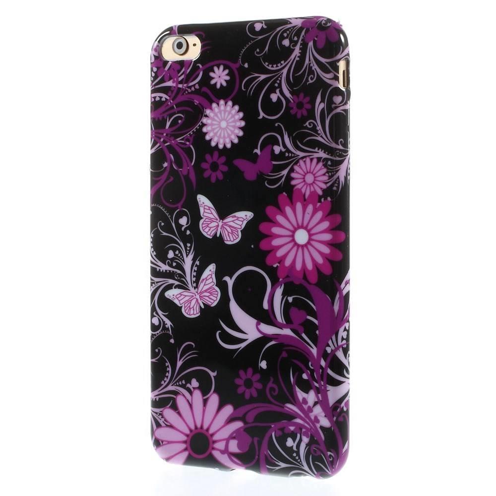 Vlinders iPhone 6 plus TPU hoesje