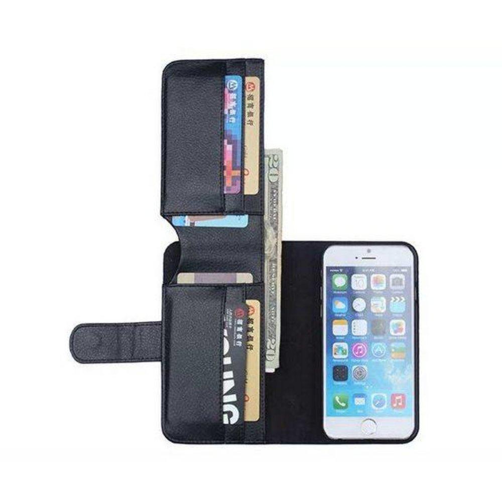iPhone 6+,7+ en 8  PLUS portemonnee hoes