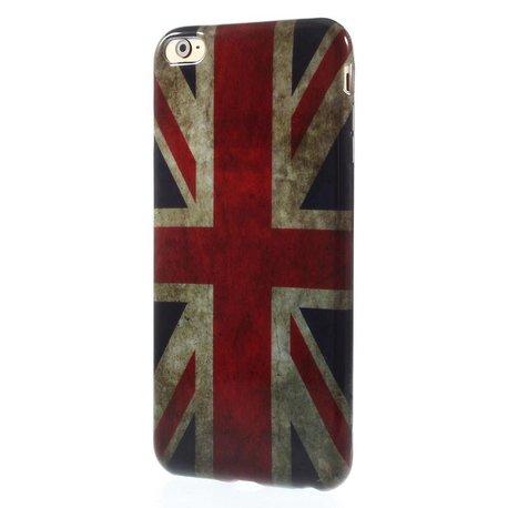 Britse vlag iPhone 6 plus TPU hoesje