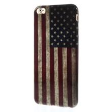 Amerikaanse vlag iPhone 6 plus TPU hoesje