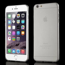 Transparant slim fit iPhone 6 Plus TPU hoesje