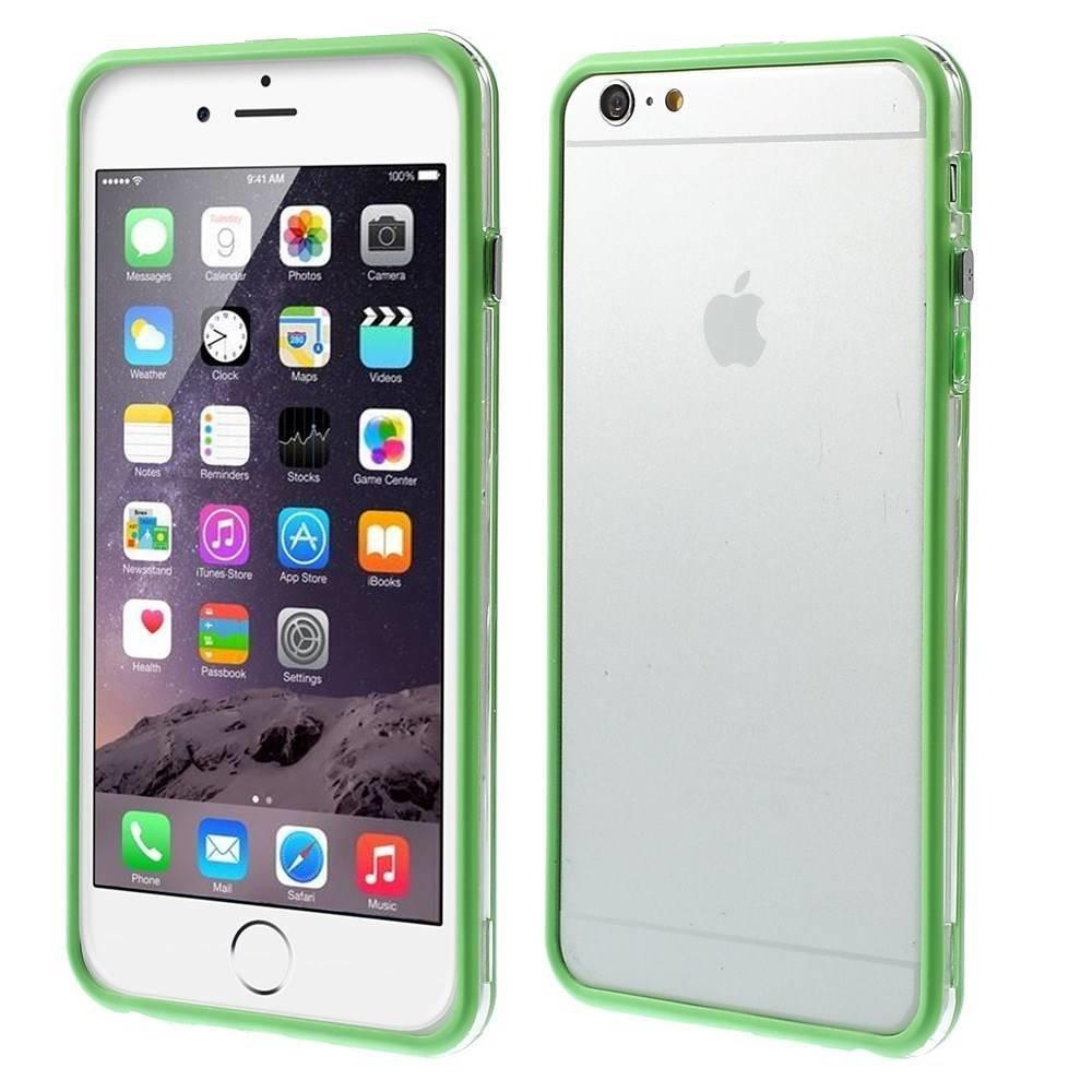 iPhone 6 Plus bumper groen/transparant