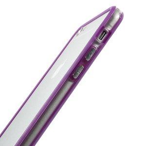 iPhone 6 Plus bumper paars/transparant