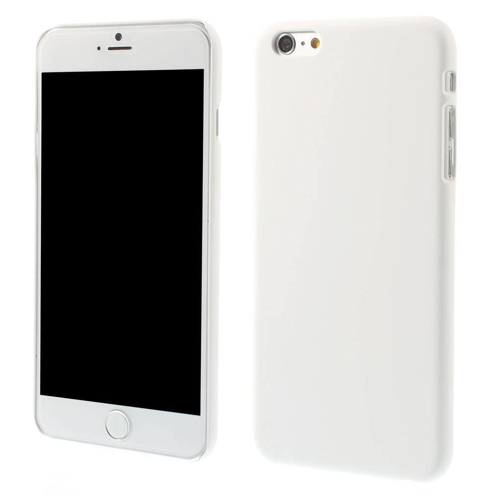 Wit effen iPhone 6 Plus hardcase