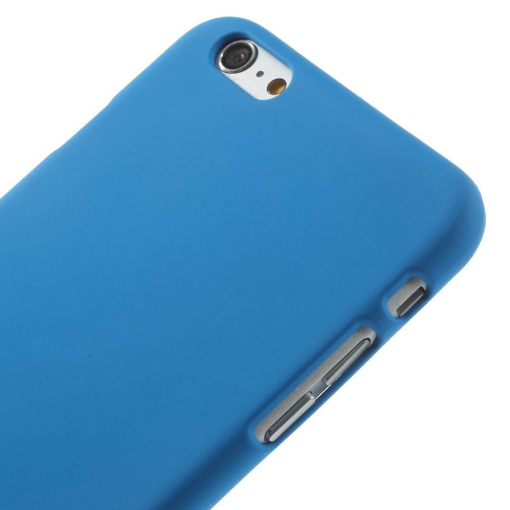 Blauw effen iPhone 6 Plus hardcase