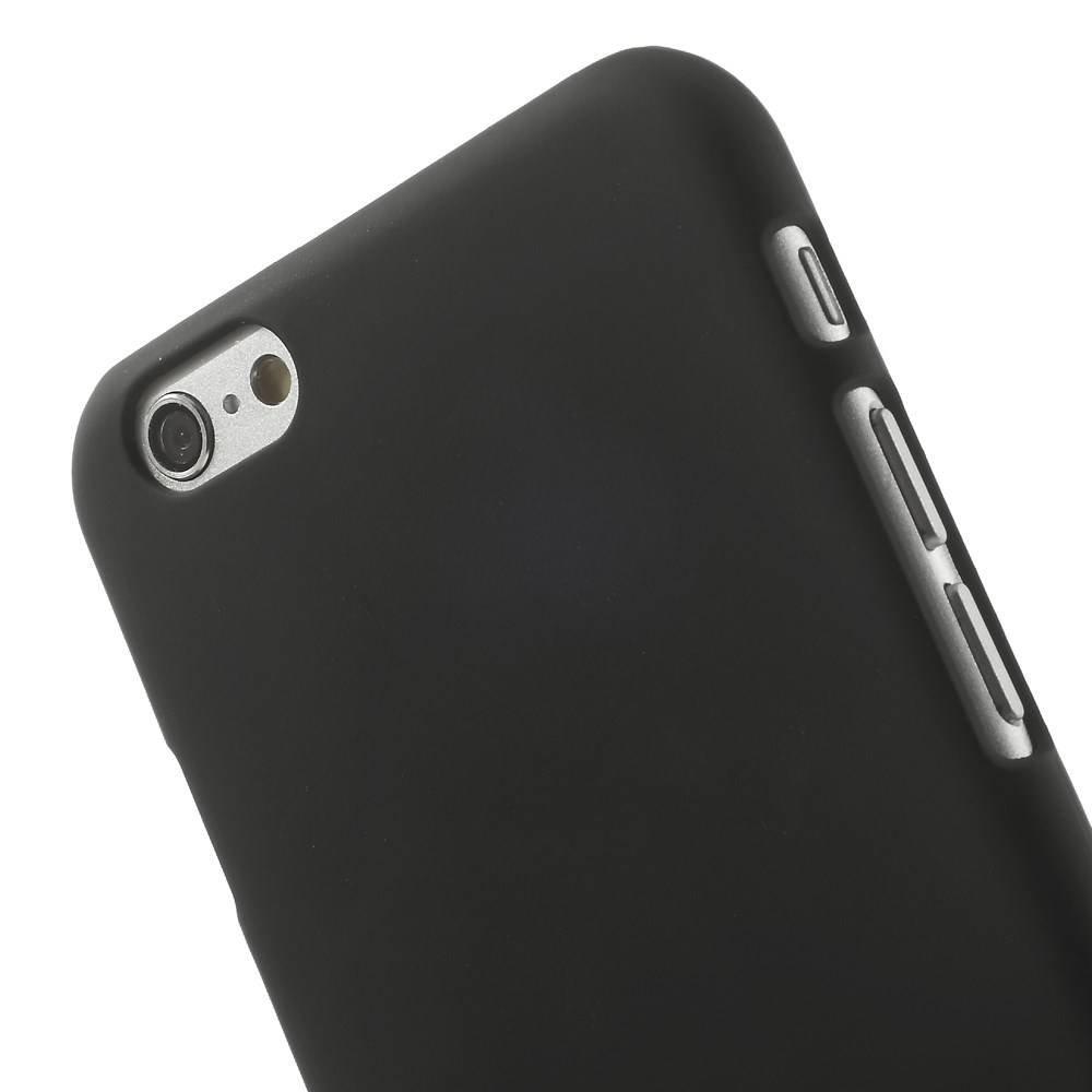 Zwart effen iPhone 6 hardcase