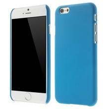 Blauw effen iPhone 6 hardcase