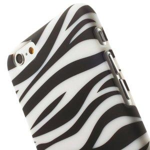Zebra print iPhone 6 hardcase hoesje