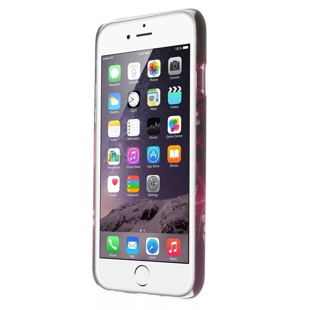 Roze hartje iPhone 6 hardcase hoesje