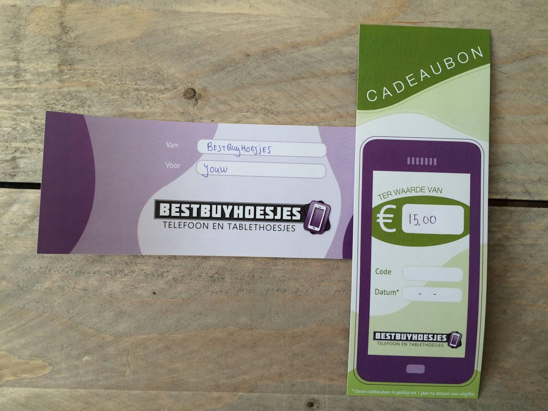 Win 15€ shoptegoed