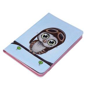 Uil met piloten muts voor iPad mini 4