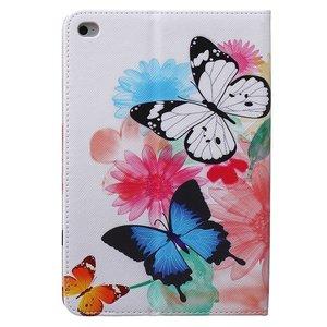 Vlinders op kleuren voor iPad mini 4