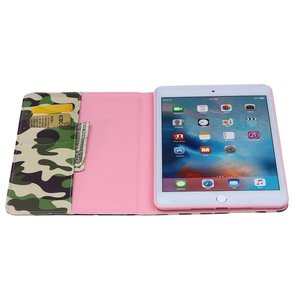 Camouflage patroon iPad mini 4 hoes