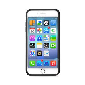 iPhone 7 en 8 flexibel hoesje  Merry Christmas  motief geruit