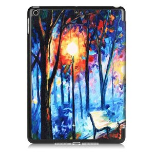 iPad 2017 Smart case Rainy day olieverf