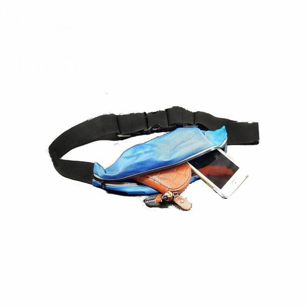 Extreme fitting belt groot Blauw