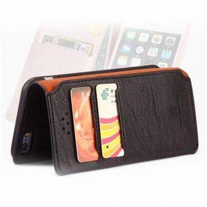 Xundd iPhone 6 portemonnee hoesje zwart leder uit de gentleman serie