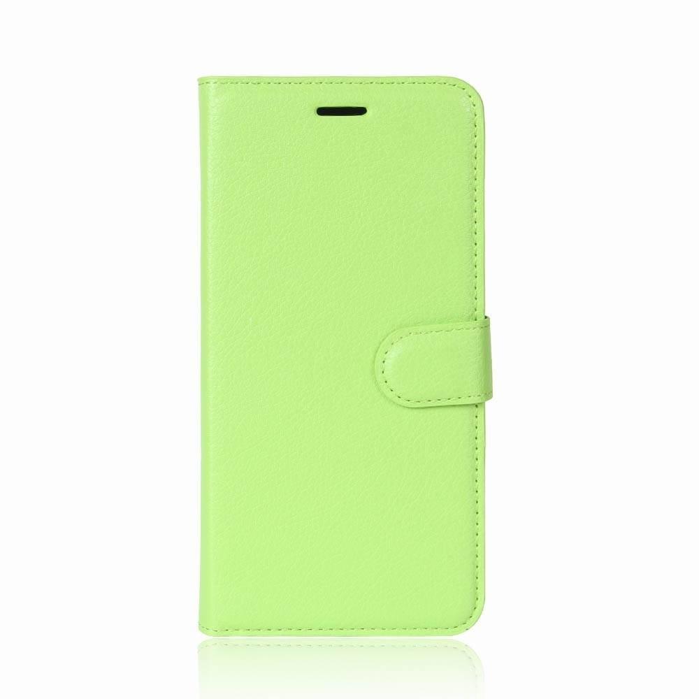 Groene kunstlederen Samsung galaxy S9 hoesje