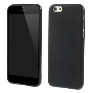Zwart iPhone 6 tpu hoesje