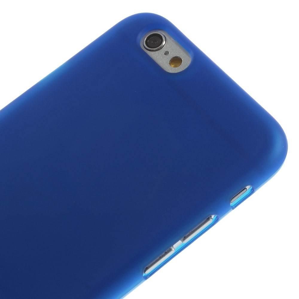 Blauw iPhone 6 TPU hoesje