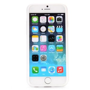 Stars witte iPhone 6 Siliconen hoes