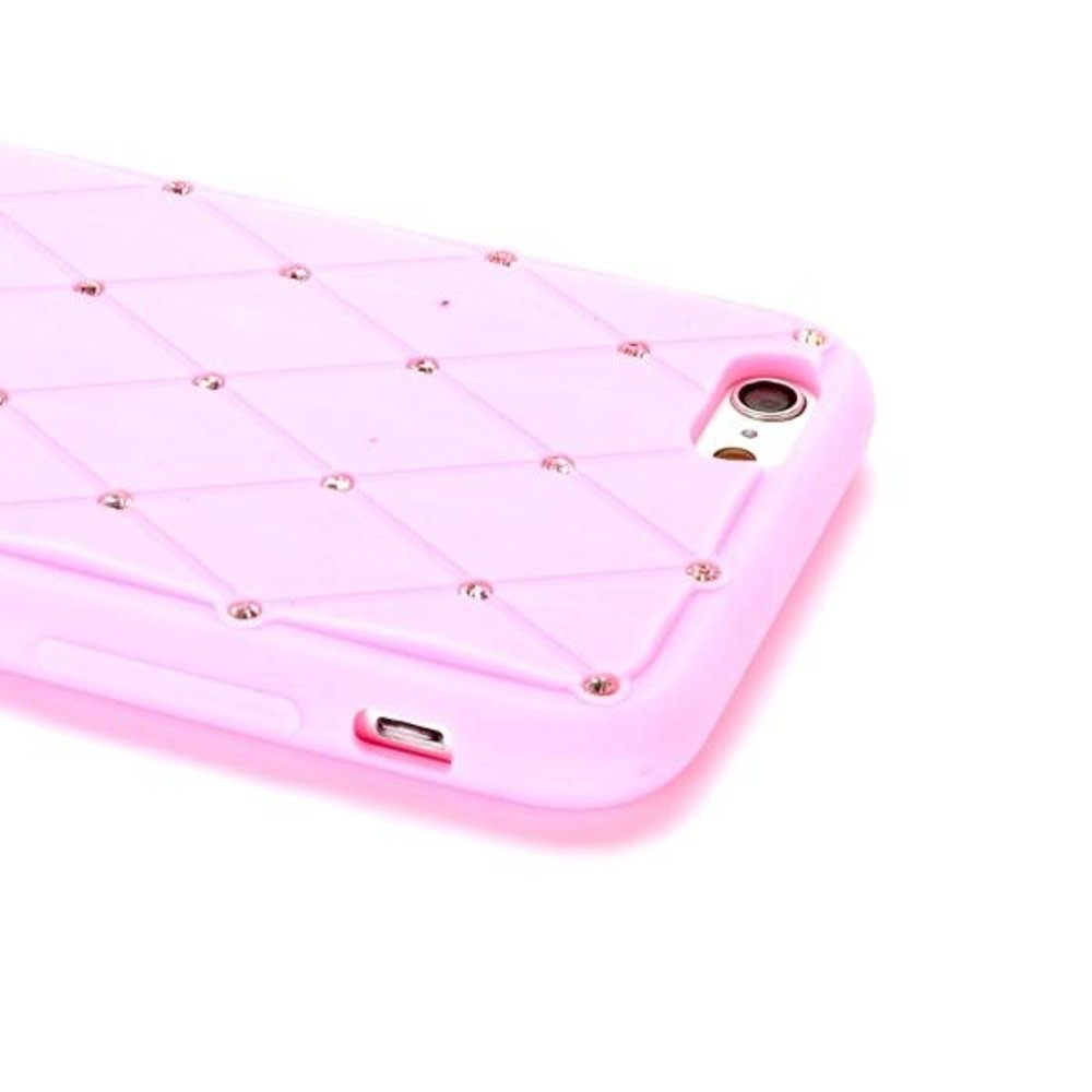 Stars roze iPhone 6 Siliconen hoes