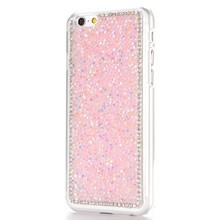 Roze strass iPhone 6 hard case