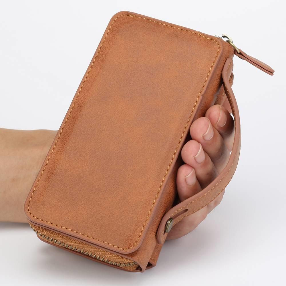 BRG Bruine portemonnee hoes voor de iPhone 6