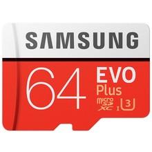 Samsung 64GB microSD SDXC kaartje EVO plus