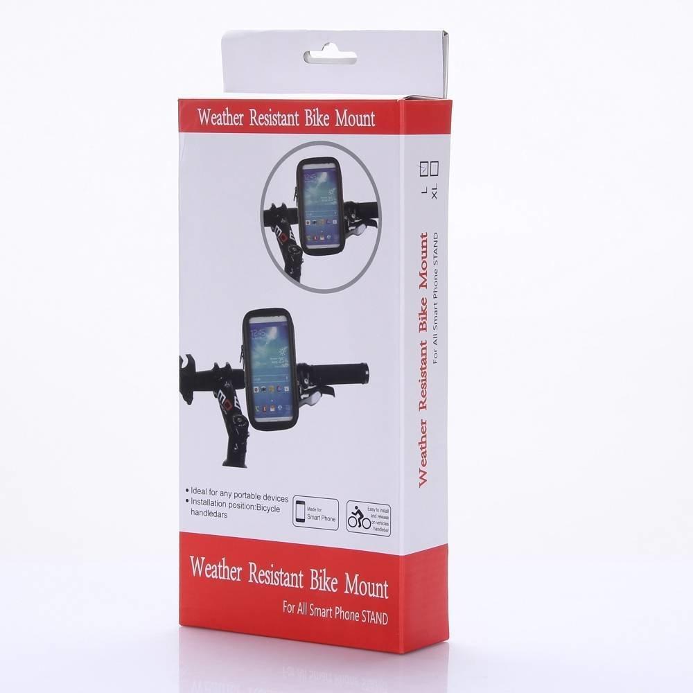 Samsung Galaxy S8 Waterdichte fiets telefoonhouder hoesje voor op stuur