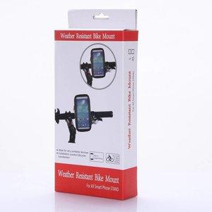 Samsung Galaxy S6 Waterdichte fiets telefoonhouder hoesje voor op stuur