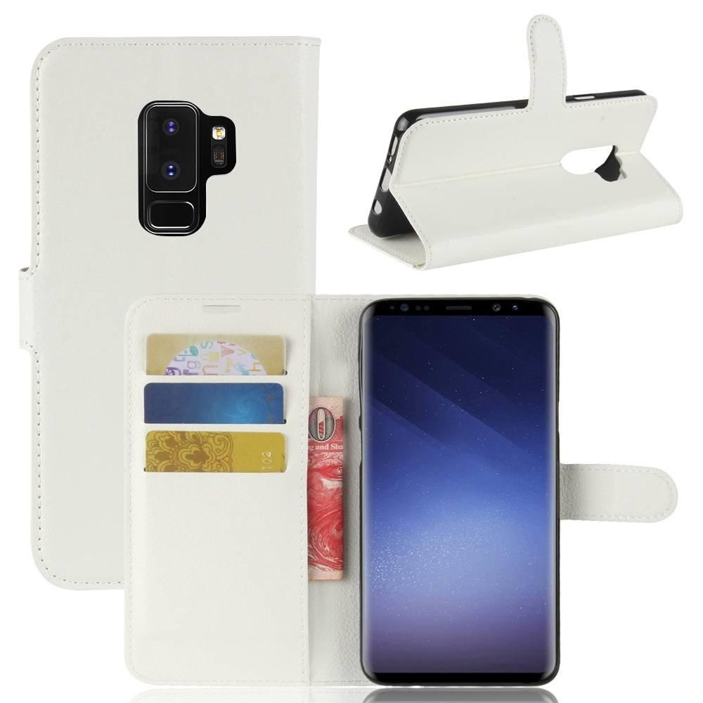 Kunstlederen Samsung galaxy S9 PLUS hoesjes diverse kleuren verkrijgbaar
