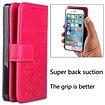 Roze met glimmertjes afgewerkt Galaxy S9 boekhoesje