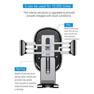 BASEUS Ventilator Autohouder Draadloze oplader voor  iPhone X/8/8 Plus Samsung S8, 9, 9plus etc.