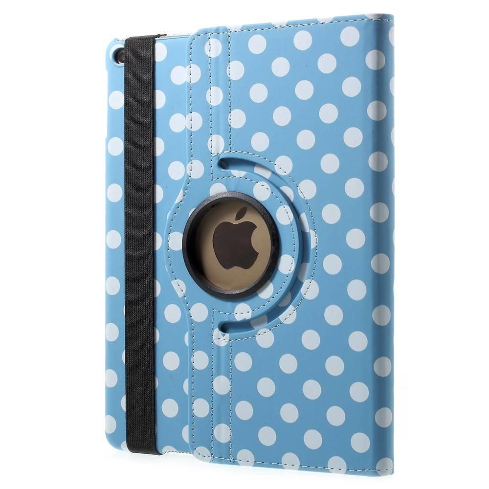 Polka dots iPad hoes 360° roteerbaar