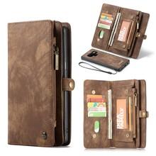 CaseMe Bruine multifunctioneel wallet hoesje Samsung Note 9