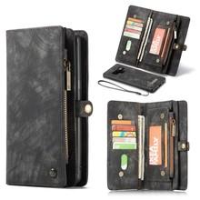 CaseMe Zwarte multifunctioneel wallet hoesje Samsung Note 9