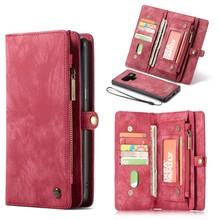CaseMe Rode multifunctioneel wallet hoesje Samsung Note 9