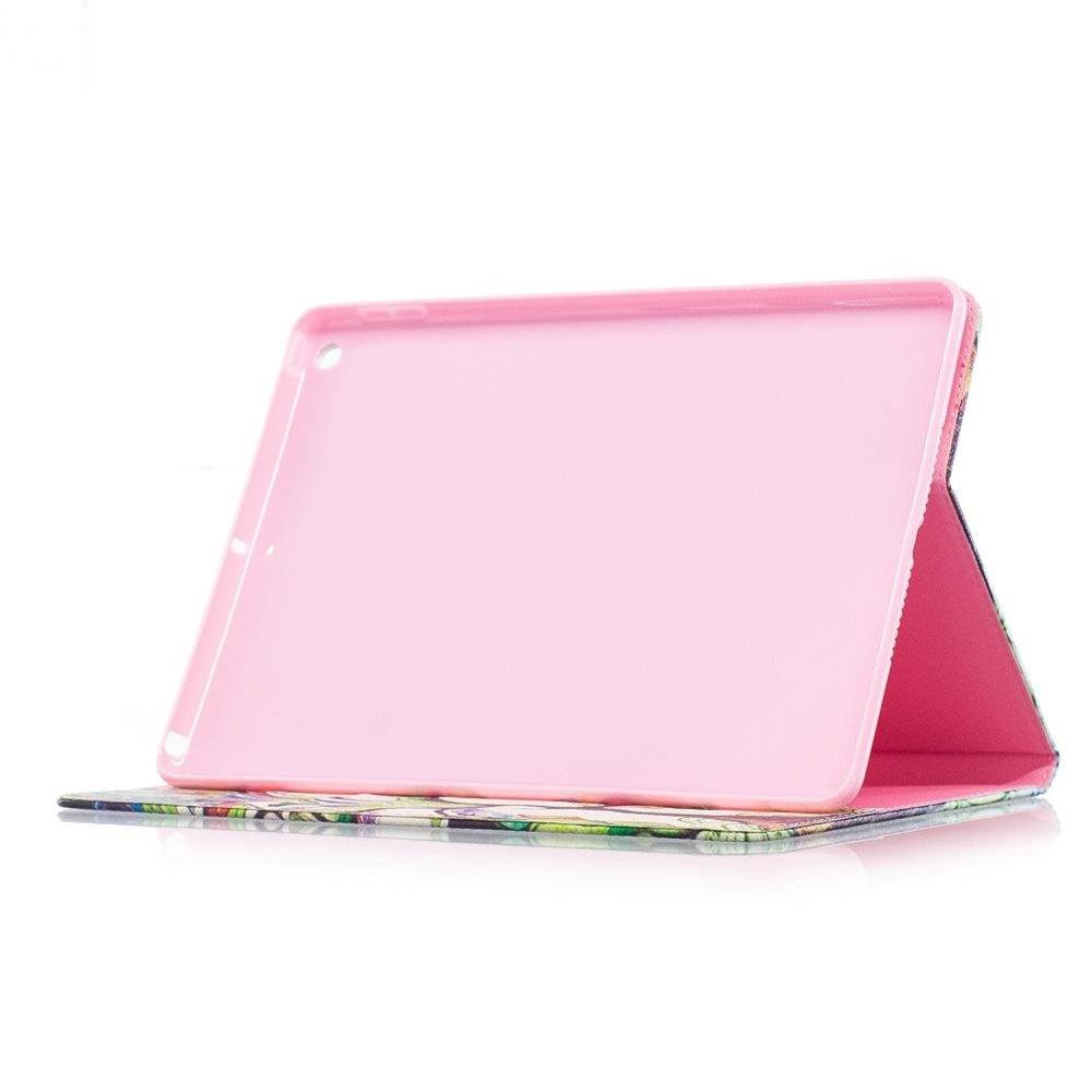iPad boekstijl hoes kleurrijke boom