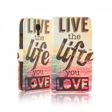 Live the life you love Samsung galaxy S5 portemonnee hoesje