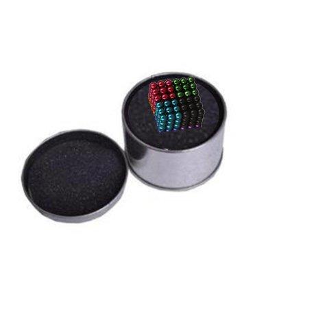 Neocube buckyballs magneet balletjes ballen 8 kleuren - 216 balletjes - 5mm