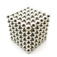 Neocube buckyballs magneet balletjes ballen zilverkleurig - 216 balletjes - 5mm