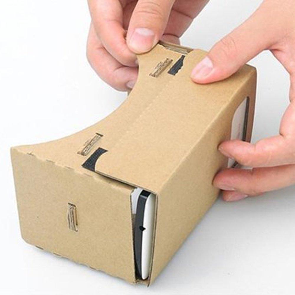 Cardboard virtual reality VR bril tot 6 inch telefoons