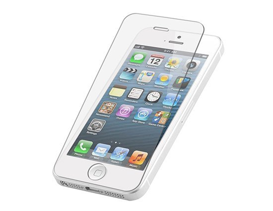 Tempered glass screenprotector iPhone 5(S)/SE