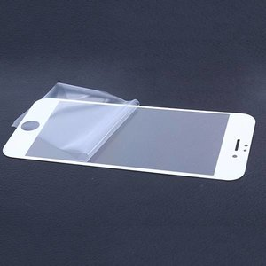 FULL COVER Tempered Glass Screen protector iPhone 7 PLUS en 8 PLUS zwart of wit