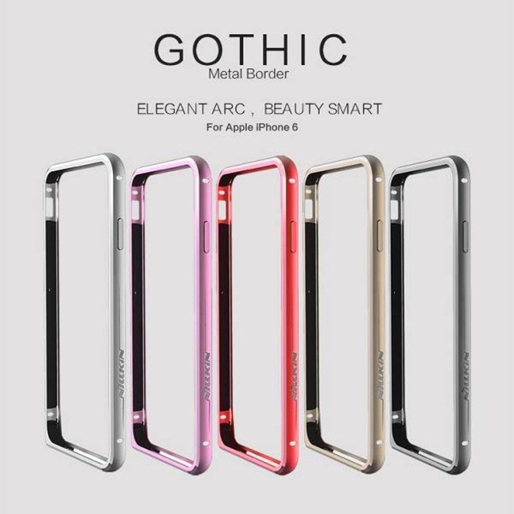 Nillkin Nillkin Aluminium iPhone 6 Bumper Goud